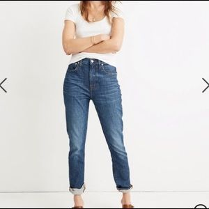 Madewell Slim High Rise Boy Jean